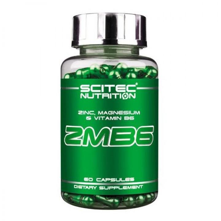 ZMB6 SCITEC 60 CAPS