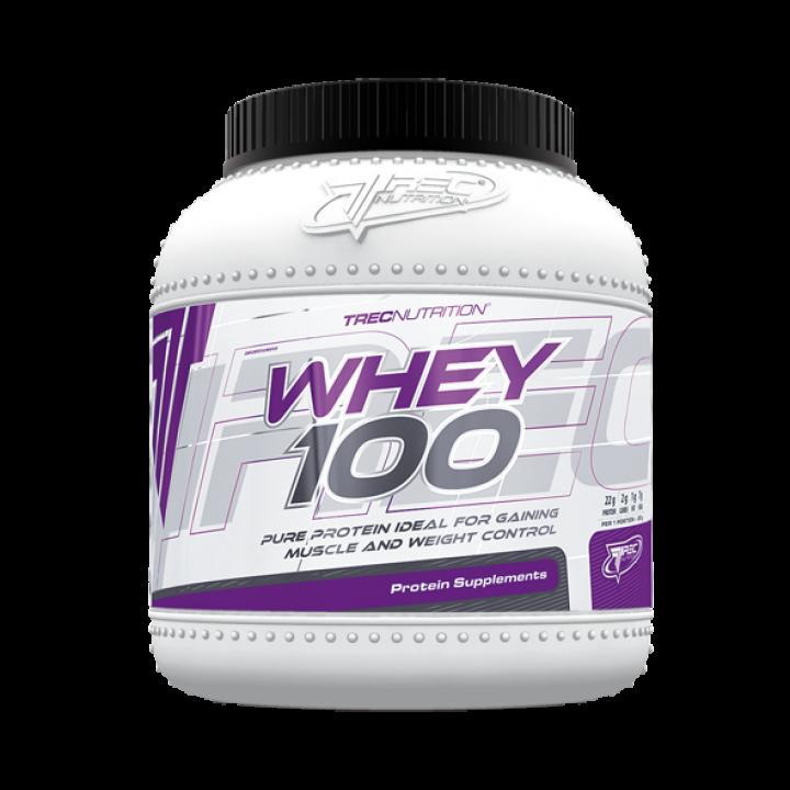 Протеин Trec Nutrition Whey 100%, 1500 г